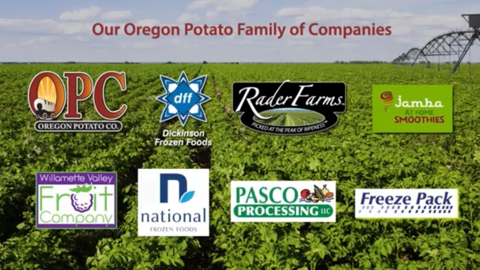 oregon potoato graphic