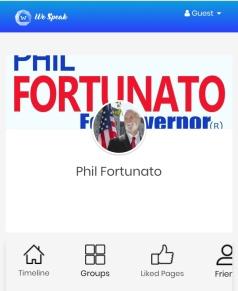 Fortunato We Speak Profile