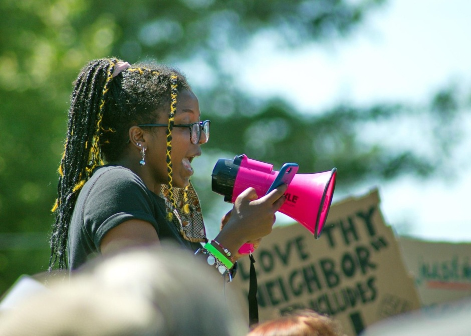 Amsa Burke Lynden March for Black Lives 070520